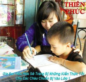 Gia Sư Cho Trẻ Chuẩn Bị Vào Lớp 1 - Dạy Kèm Tiểu Học
