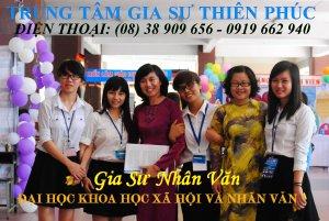 Gia Sư Nhân Văn - Đại học KHXH & NV