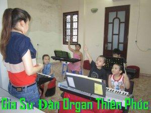 Gia Sư Đàn Organ