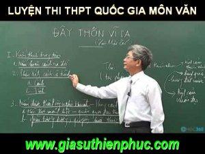 Luyện Thi THPT Quốc Gia Môn Văn