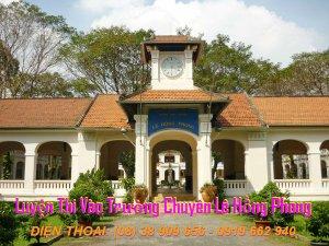 Luyện Thi Vào Trường Chuyên Lê Hồng Phong
