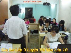 Gia Sư Lớp 9 TPHCM Giỏi & Kinh Nghiệm
